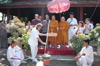 Highlight for album: มหาวิทยาลัย จัดพิธีหล่อพระพุทธรูปสุโขทัยเพื่อนำไปประดิษฐาน ณ ประเทศเวียดนาม