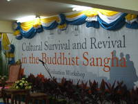 Highlight for album: Cultural Survival and Revival in the Buddhist Sangha